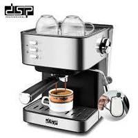 Акция! Кофемолка в подарок. Кофемашина полуавтоматическая DSP Espresso Coffee Maker KA3028 с капучинатором