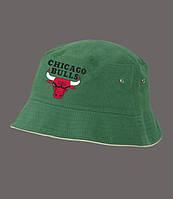 Панама Chicago Bulls, зеленая |  Чикаго булз, лето, как оригинал, фото 1
