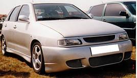 Реснички (накладки на фары) Seat Ibiza II / Cordoba I