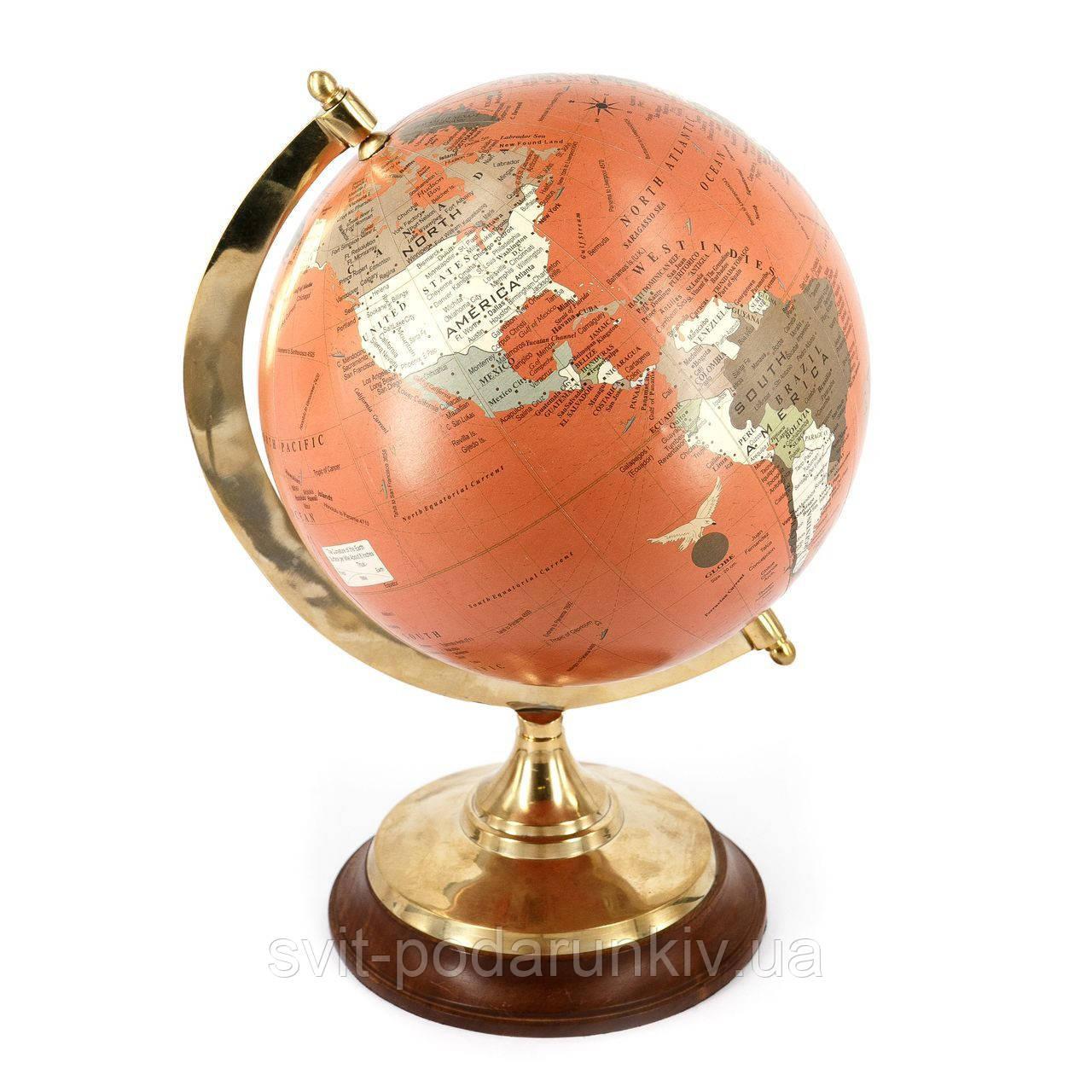 Необычный глобус