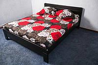 Кровать деревянная из массива ясеня Орландо