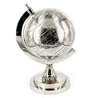 Большой глобус сувенир металлический  S1512