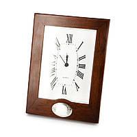 Часы настольные деревянные под нанесение логотипа CLS0732S