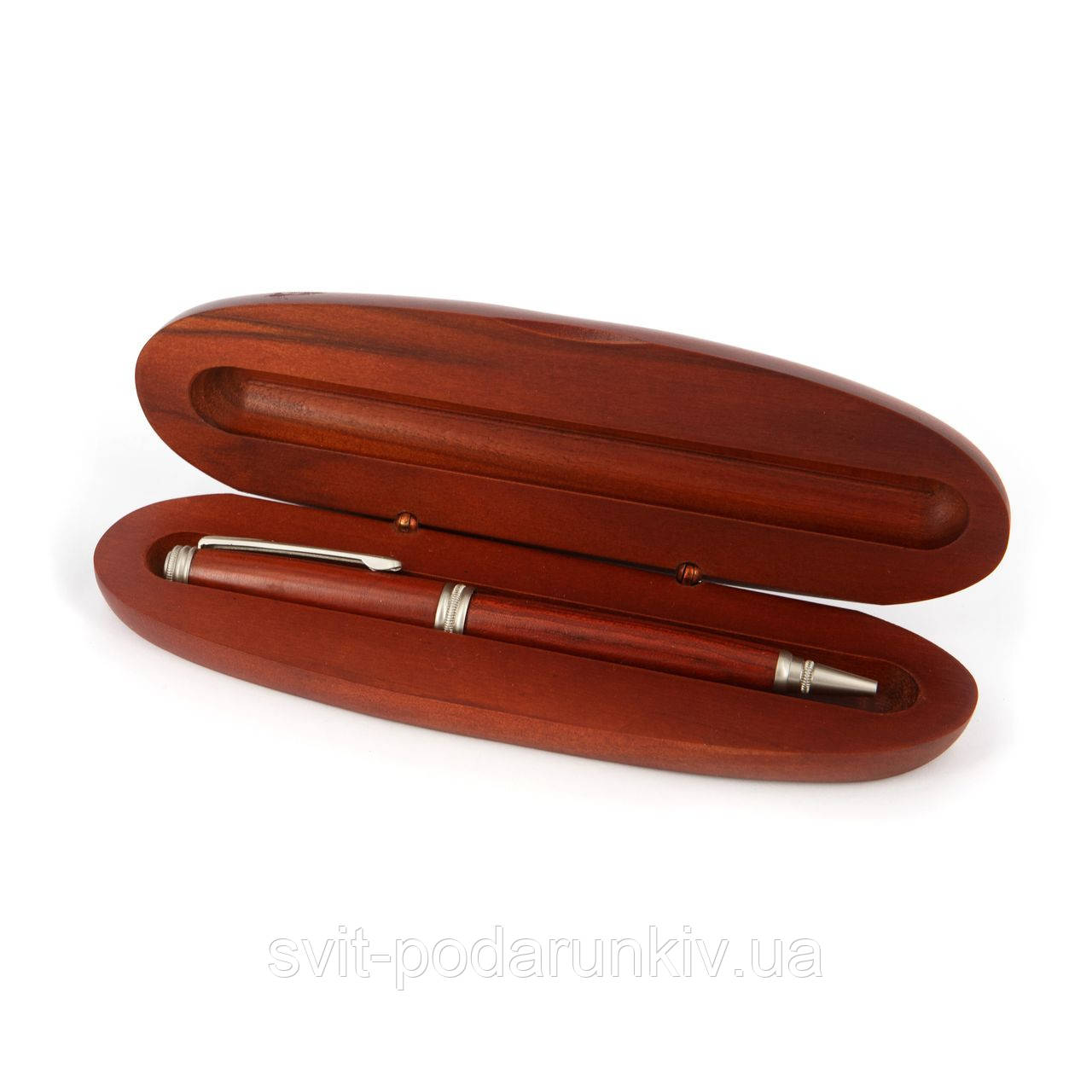 Подарочная капиллярная ручка в овальном футляре 03S11