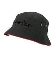 Панамка Stone Island, черная | стоун айленд как оригинал , фото 1