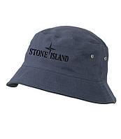 Панамка Stone Island, темно-синяя | стоун айленд как оригинал , фото 1