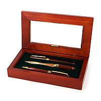 Подарочный набор ручек шариковая и перьевая и нож для конвертов 73S101FBL