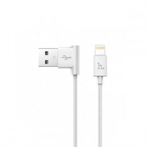 Кабель Hoco UPL11 L Shape USB - Lightning 1.2 м, фото 2