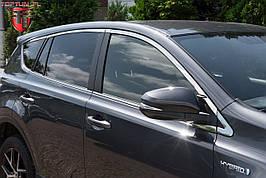 Верхня окантовка бічних вікон Toyota RAV4