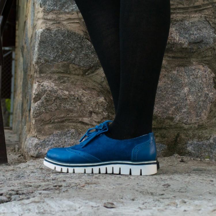 Туфли кожаные 7926
