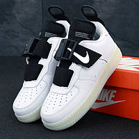 9c018679 Мужские Кроссовки Nike Air Force 1 Low Utility White, найк аир форс белые /  Реплика 1:1 Оригинал 43
