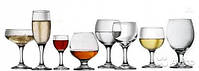 Бокалы, фужеры, стаканы, стопки, рюмки, шоты