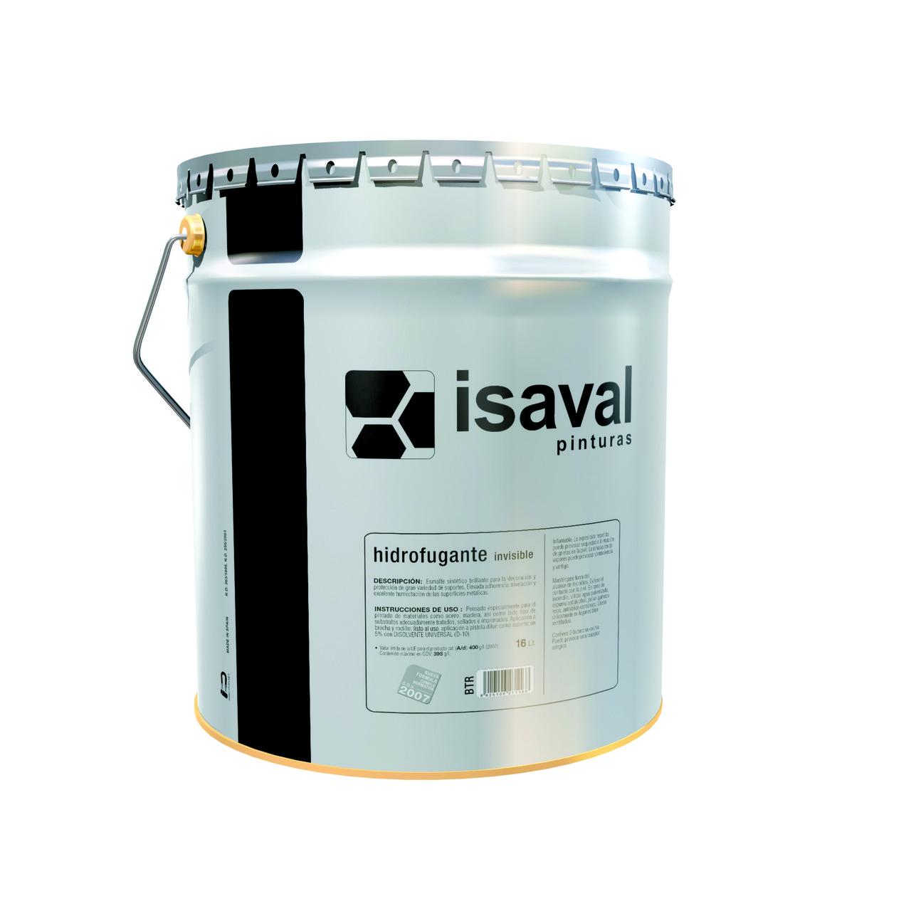 Гідроізоляційна пропитка ISAVAL Hidrofugante 16 л