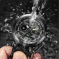 Мужские водонепроницаемые часы AMST 3003 Black чёрные, фото 1