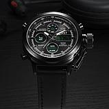 Мужские водонепроницаемые часы AMST 3003 Black чёрные, фото 2