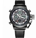Мужские водонепроницаемые часы AMST 3003 Black чёрные, фото 3