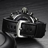 Мужские водонепроницаемые часы AMST 3003 Black чёрные, фото 4