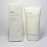 Ежедневный солнцезащитный крем Missha All Around Safe Block Daily Sun SPF50+ PA++++