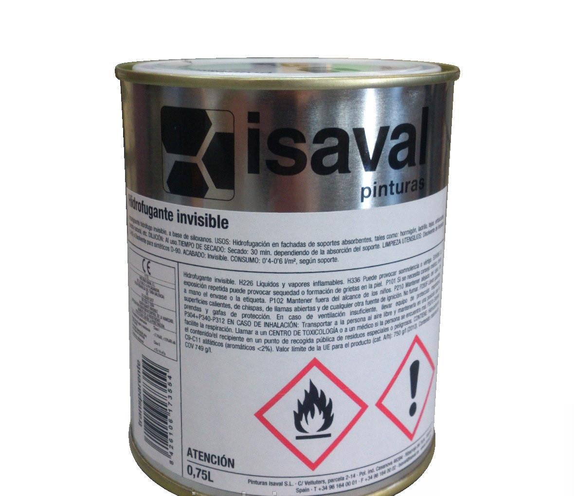 Гідроізоляційна пропитка ISAVAL Hidrofugante 0.75 л