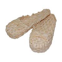 Лапти плетёные из кукурузы (35-38 размер)