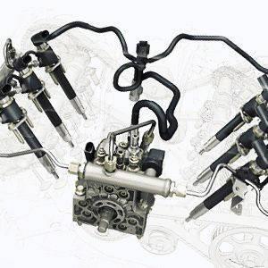 Система питания двигателя