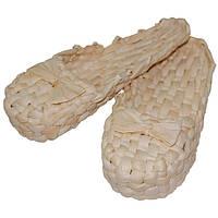 Лапти плетёные из кукурузы (40-44 размер)