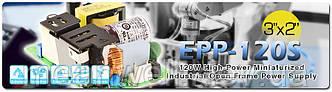 EPP-120S - Mean Well выпустил новый открытый блок питания на 120Вт