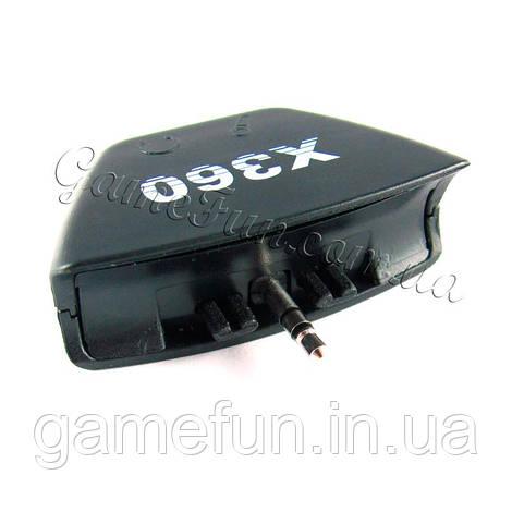 Xbox 360 Адаптер-переходник 3.5 мм (подключение наушники + микрофон)