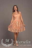 Женское платье нарядное кружево