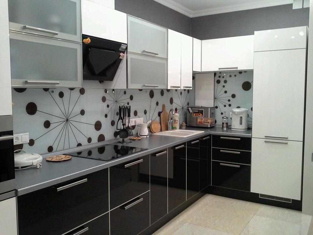 Черно-белая кухня любой сложности ViAnt - Киев и область