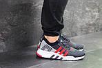 Мужские кроссовки Adidas Equipment adv 91-18 (темно-синие с серым и красным), фото 2