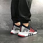 Мужские кроссовки Adidas Equipment adv 91-18 (темно-синие с серым и красным), фото 6