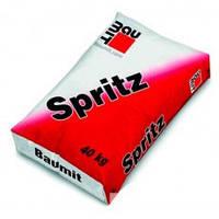 Штукатурная смесь SPRITZ Baumit, мешок 25 кг.