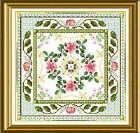 Материалы к схеме The Beaded Rose Tile ONL 184