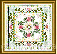 Материалы к схеме The Beaded Rose Tile ONL 184