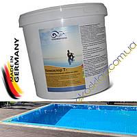 Средство для дезинфекции воды бассейна хлор быстрый в таблетках по 20 ГР, CHEMOFORM, 5 КГ Германия