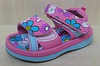 Босоножки и сандалии на девочку, детская летняя обувь, пляжная обувь, материал пенка р. 21