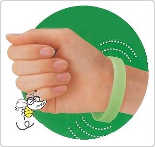 Браслет от комаров силиконовый BucsBuster