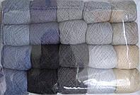 Нитка акриловая для вышивки серая