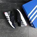 Мужские кроссовки Adidas Equipment adv 91-18 (темно-синие с серым), фото 4