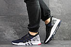 Мужские кроссовки Adidas Equipment adv 91-18 (темно-синие с серым), фото 2