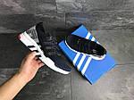 Мужские кроссовки Adidas Equipment adv 91-18 (темно-синие с серым), фото 5