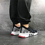Мужские кроссовки Adidas Equipment adv 91-18 (темно-синие с серым), фото 6