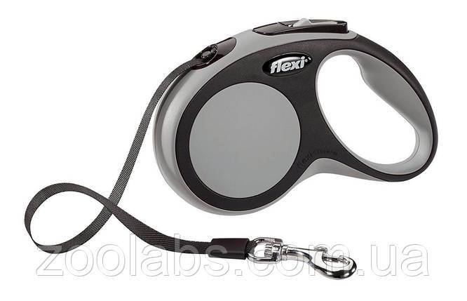Рулетка-поводок для собак Flexi New Comfort L (8 метров, до 50 кг), фото 2