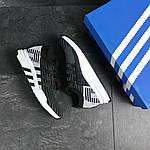 Мужские кроссовки Adidas Equipment adv 91-18 (черно-серые с белым), фото 2