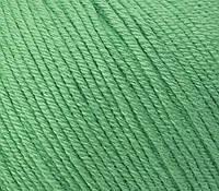 Пряжа GAZZAL Baby Cotton (Хлопок 60%; Акрил 40%; Вес 50гр; Длина 165м) Мятный
