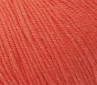 Пряжа GAZZAL Baby Cotton (Хлопок 60%; Акрил 40%; Вес 50гр; Длина 165м) Оранж
