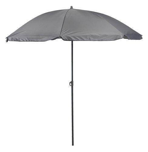 Пляжный и садовый зонтик от солнца серый