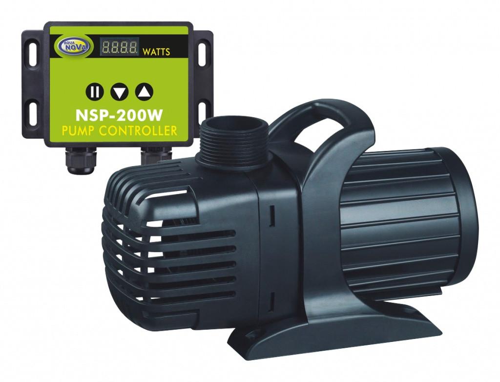 Насос для пруда AquaNova NSP-20000 л/час с регулятором потока