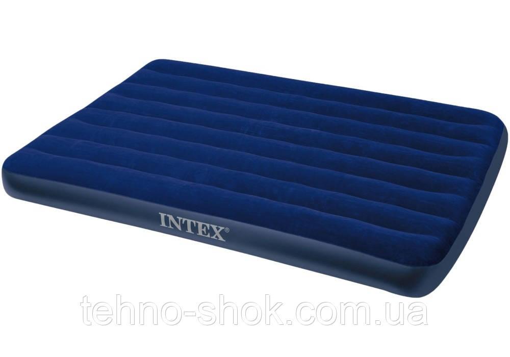 Надувной матрас Intex 191х137х22 см (68758)